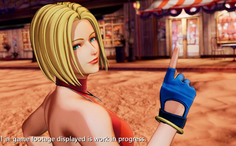 Blue Mary in THE KING OF FIGHTERS XV
