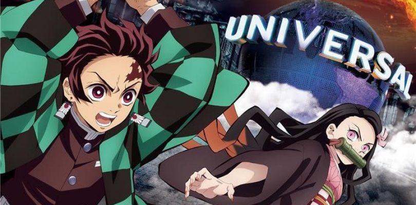 DEMON SLAYER agli Universal Studios Japan