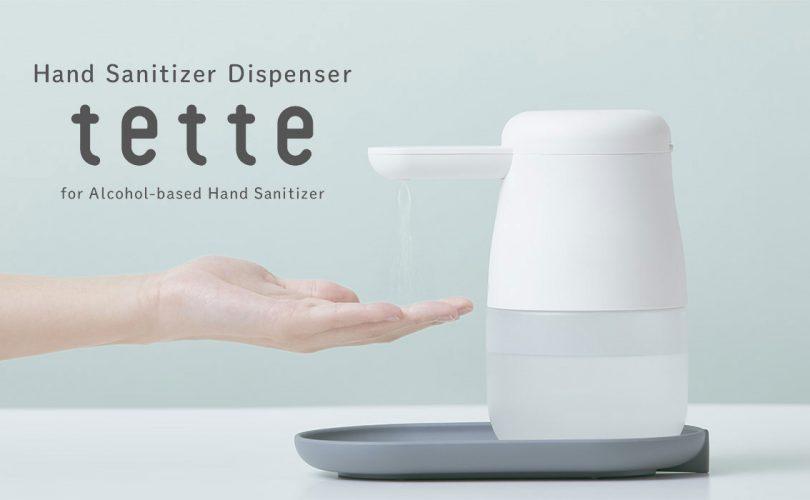 Dal Giappone arriva tette, il disinfettante mani automatico