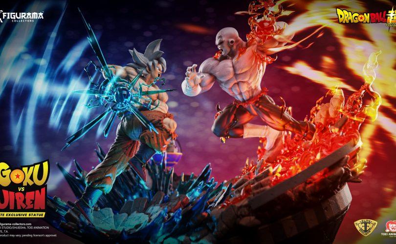 Dragon Ball Super Goku VS Jiren Elite Exclusive Statue Figurama Collectors