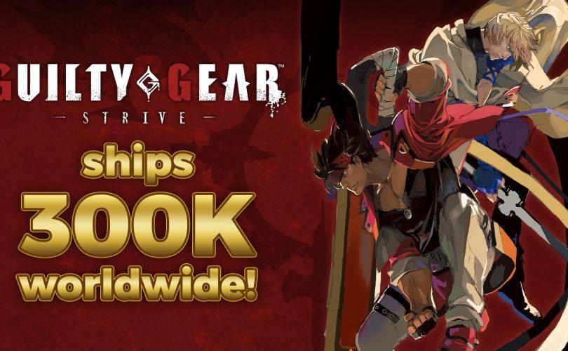 GUILTY GEAR -STRIVE- supera le 300.000 copie vendute