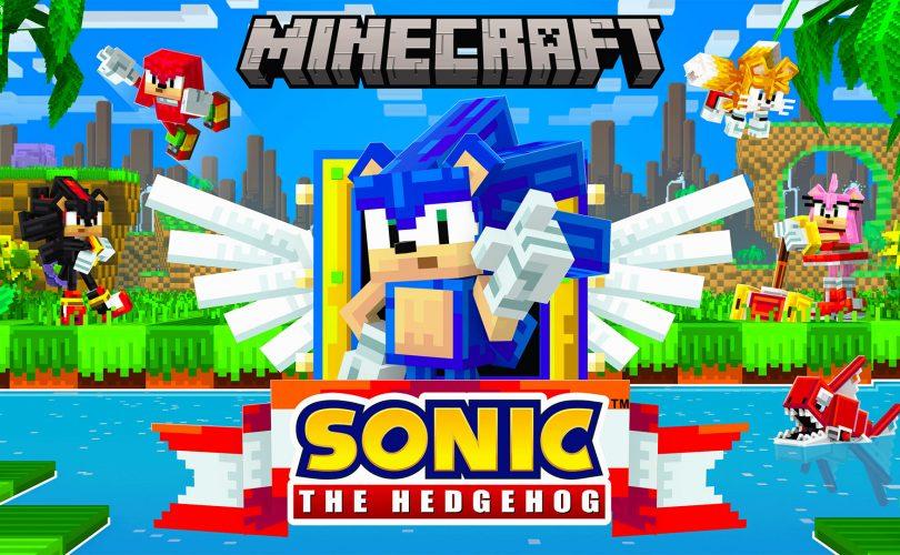 Sonic the Hedgehog invade Minecraft con un DLC