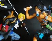 ONE PIECE: recensione delle figure THREE BROTHERS dedicate ad Ace e Sabo