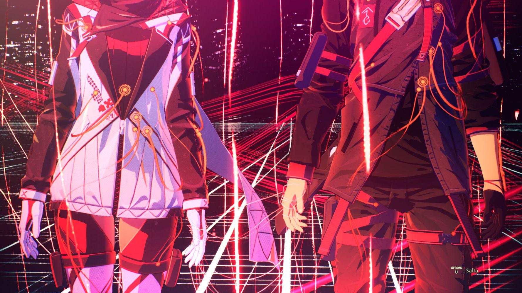 Yuito e Kasane, i due protagonisti di SCARLET NEXUS
