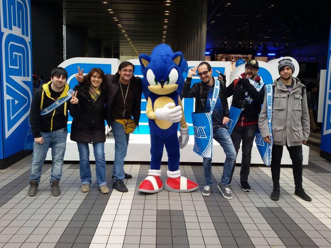 Abbiamo incontrato Sonic nel 2016 a Tokyo
