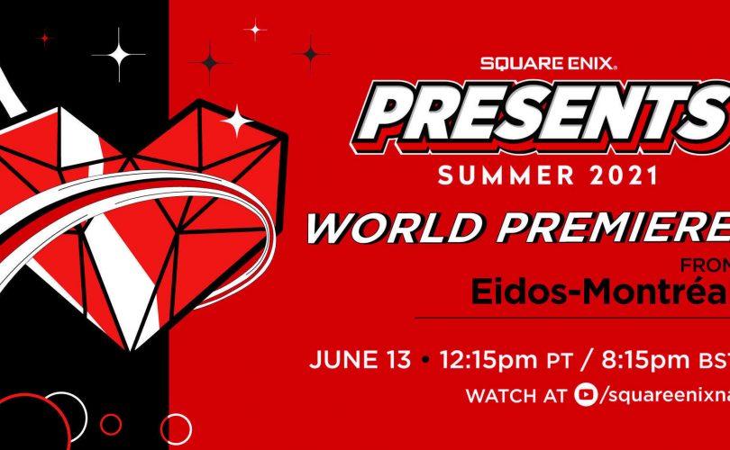 SQUARE ENIX PRESENTS E3 2021 annunciato per il 13 giugno