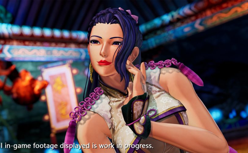 Luong in THE KING OF FIGHTERS XV