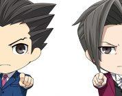 Ace Attorney Nendoroid Phoenix Wright e Miles Edgeworth