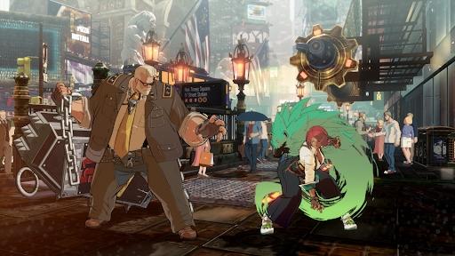 GUILTY GEAR STRIVE DLC Goldlewis Dickinson