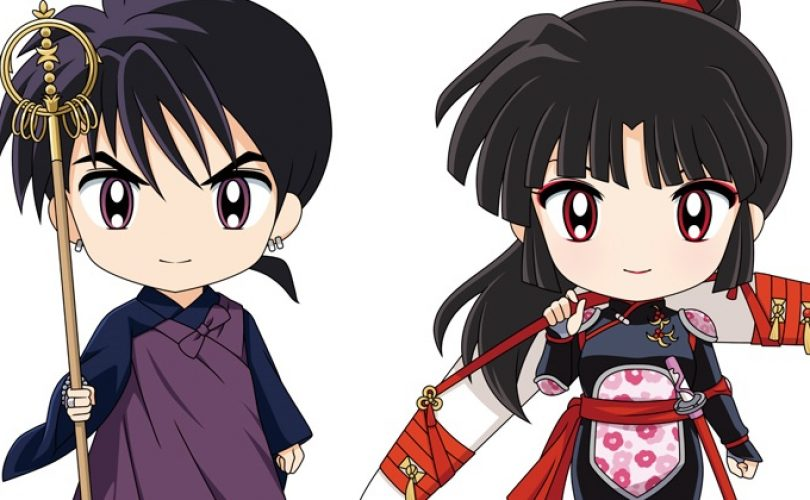 Inuyasha Nendoroid Miroku e Sango