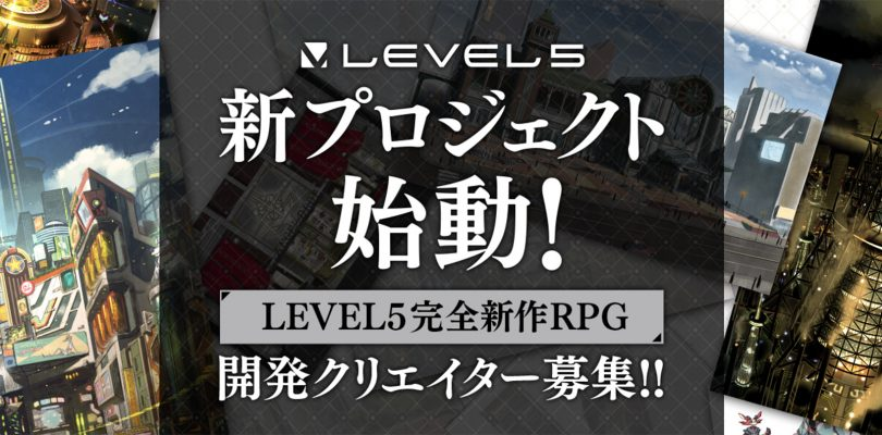 LEVEL-5 sta reclutando staff per un nuovo RPG