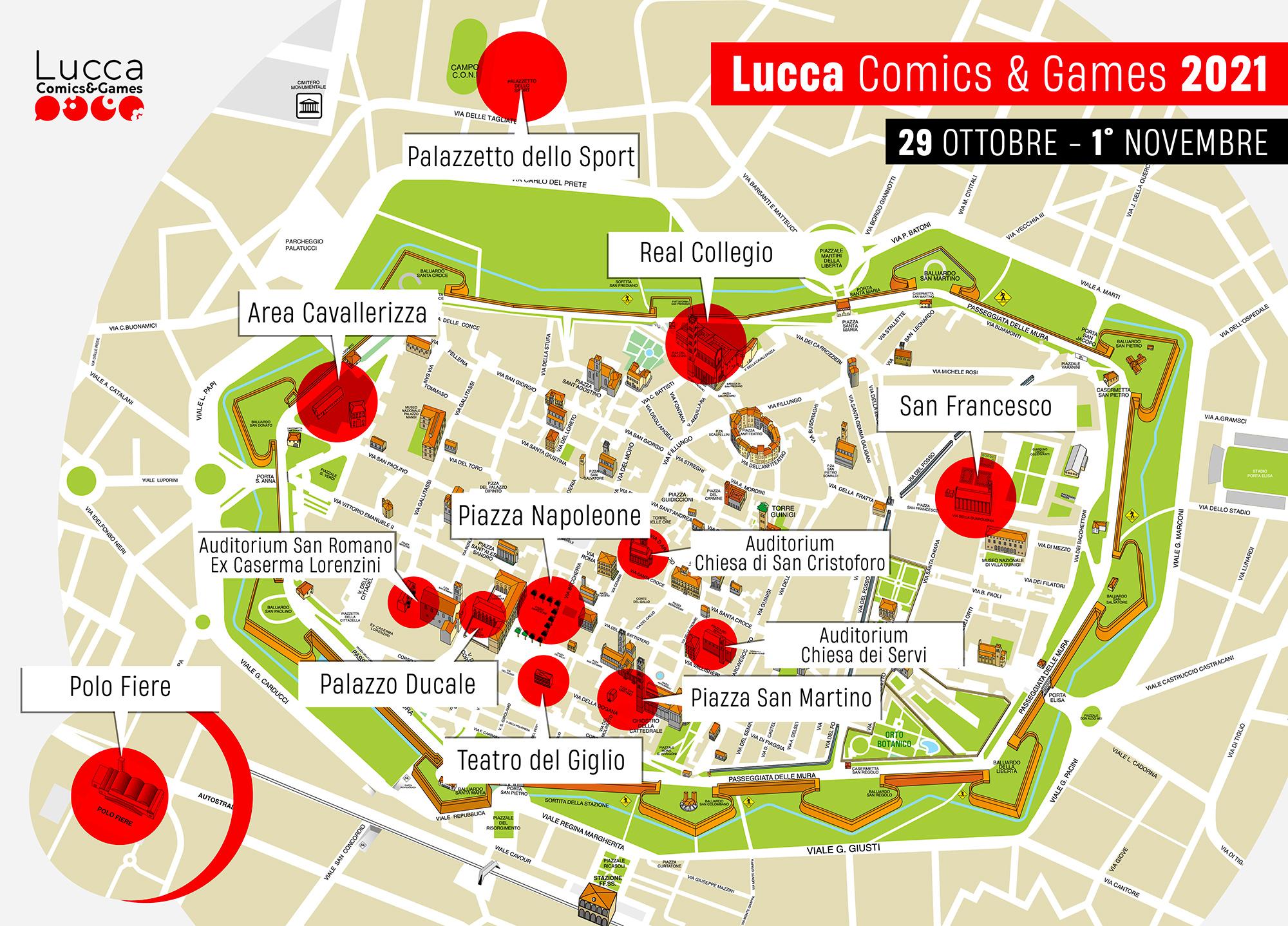 Lucca Comics 2021 date