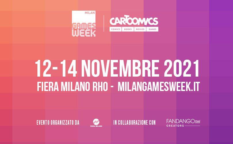 MILAN GAMES WEEK & CARTOOMICS 2021: rivelate le date