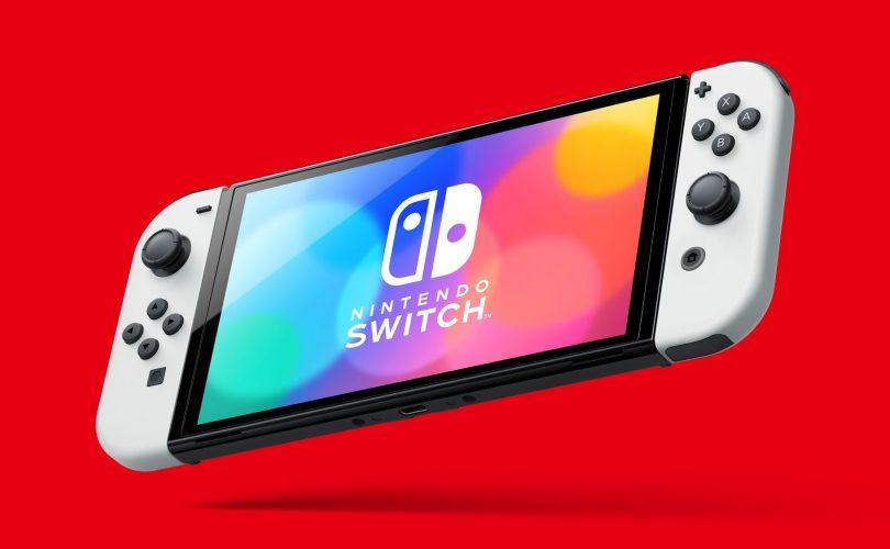 Nintendo Switch modello OLED: data di uscita, prezzo e specifiche tecniche