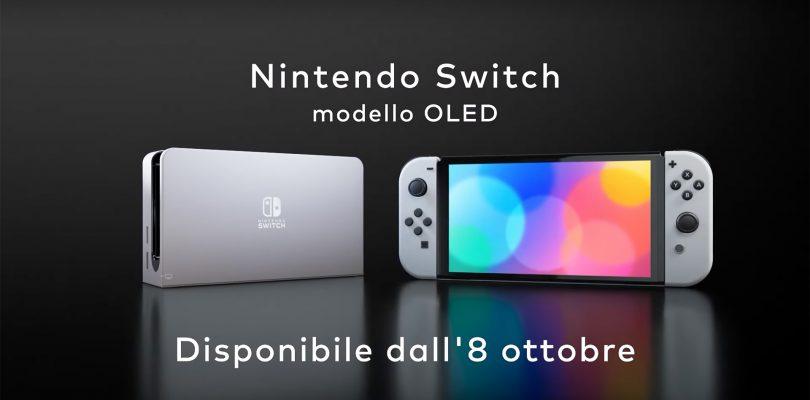 """Nintendo Switch Pro? Annunciato il """"modello OLED"""""""