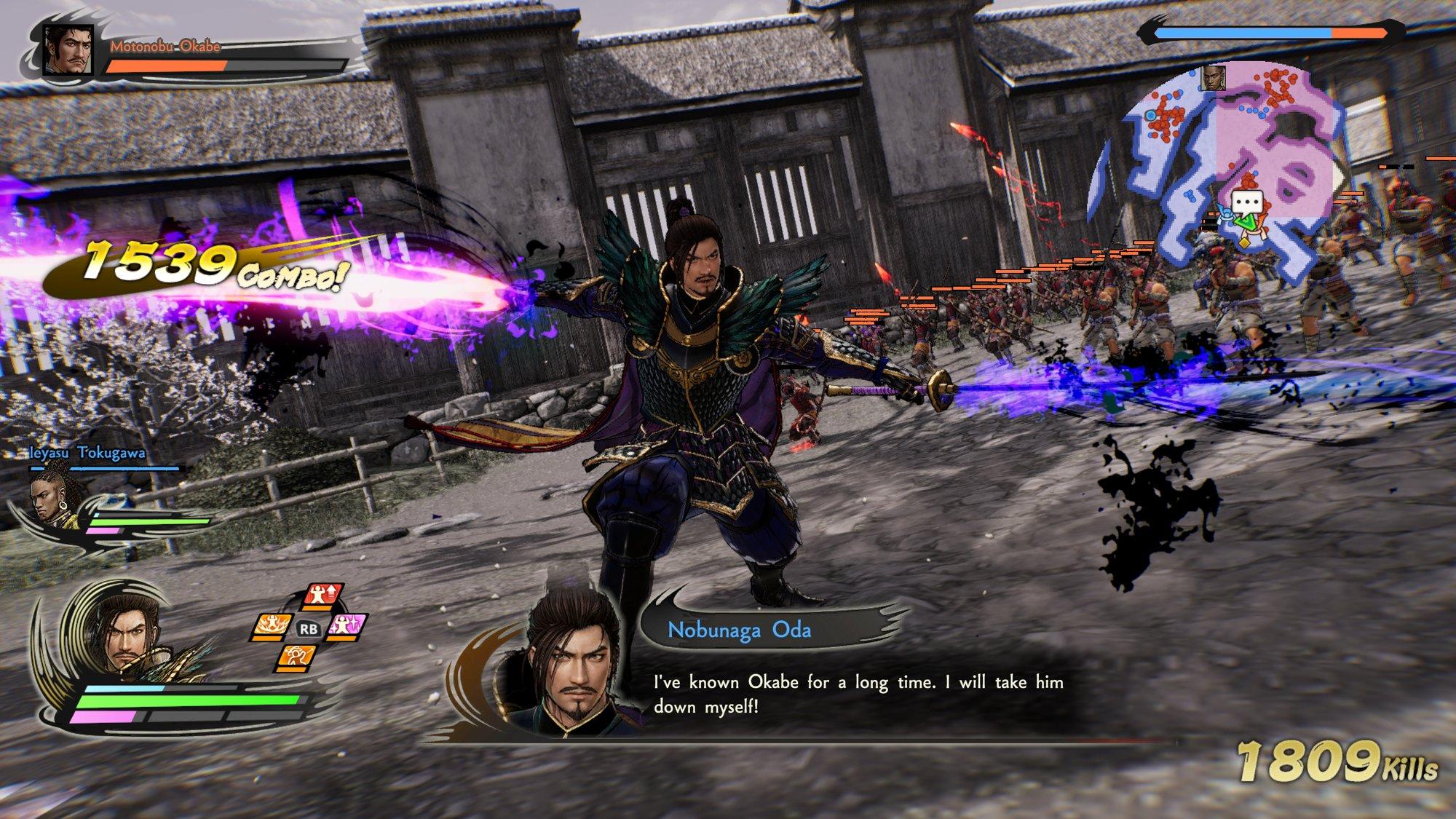 Oda Nobunaga, versione matura
