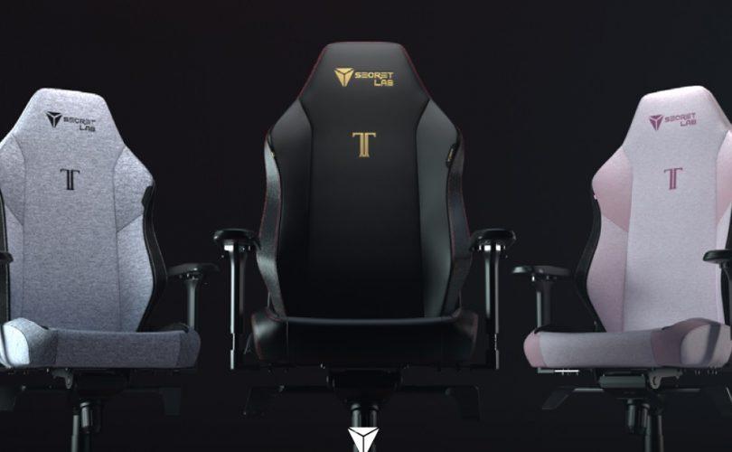Secretlab Series 2022: annunciata la poltrona da gaming Titan EVO