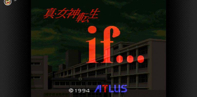 Shin Megami Tensei if... tra i nuovi titoli Nintendo Switch Online in Giappone