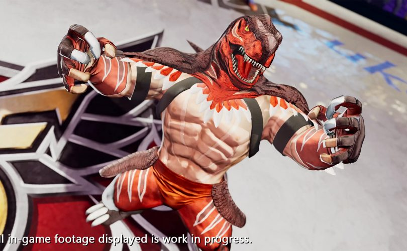 King of Dinosaurs in THE KING OF FIGHTERS XV