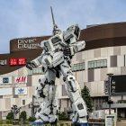 RX-0 Unicorn Gundam di Odaiba