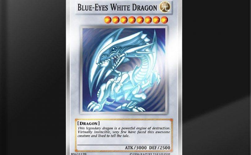 Yu-Gi-Oh! – Al via un giveaway per un preziosissimo Drago Bianco Occhi Blu in argento