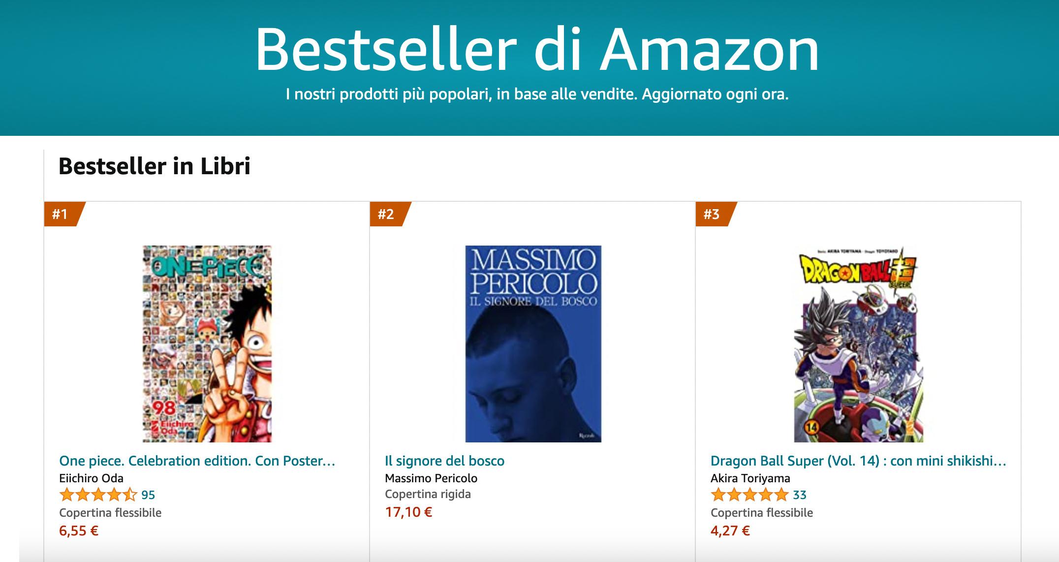 ONE PIECE 98 Celebration Edition è il libro più venduto su Amazon Italia