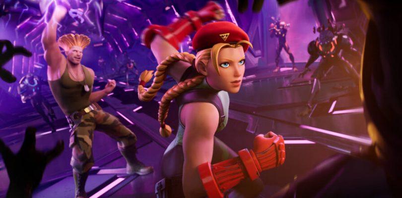 Fortnite collabora con Street Fighter, in arrivo i costumi di Cammy e Guile