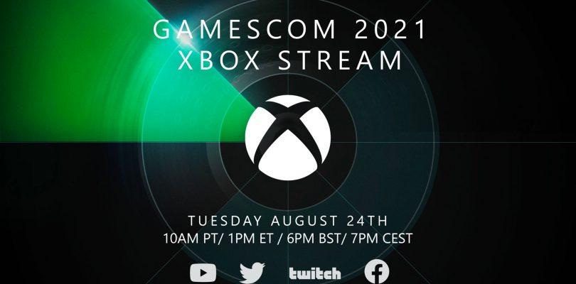 gamescom 2021: annunciato l'evento Xbox