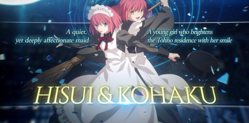 Melty Blood: Type Lumina – Hisui & Kohaku protagoniste del nuovo Character trailer