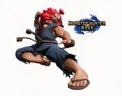MONSTER HUNTER RISE: è in arrivo Akuma da Street Fighter V