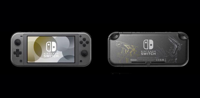 Pokémon: Nintendo Switch Lite di Dialga & Palkia in arrivo a novembre