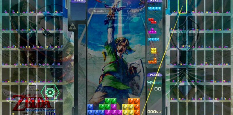 TETRIS 99 – In arrivo un Grand Prix a tema The Legend of Zelda: Skyward Sword HD
