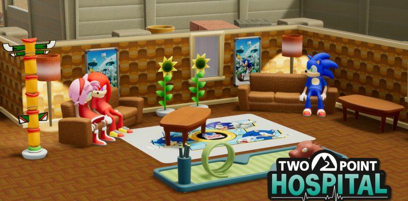 Two Point Hospital accoglie una collaborazione con Sonic the Hedgehog