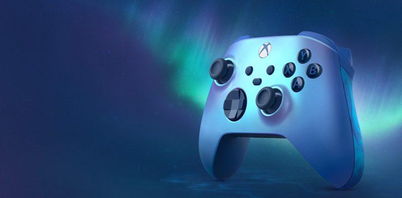 Xbox Series X S: ecco il nuovo controller Aqua Shift