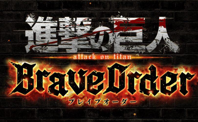 Attack on Titan: Brave Order, annunciato un nuovo titolo mobile