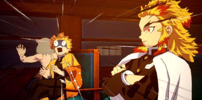 DEMON SLAYER: The Hinokami Chronicles, trailer per il Treno Mugen