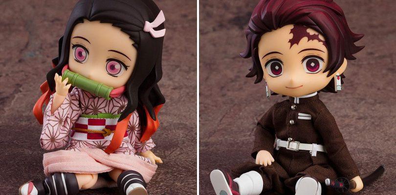DEMON SLAYER: annunciate le Nendoroid Doll di Tanjiro e Nezuko