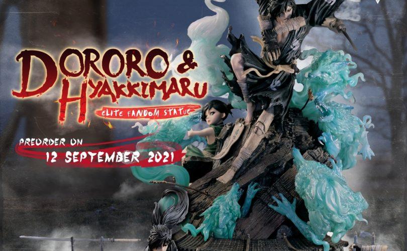 Dororo & Hyakkimaru Elite Fandom Statue di Figurama Collectors