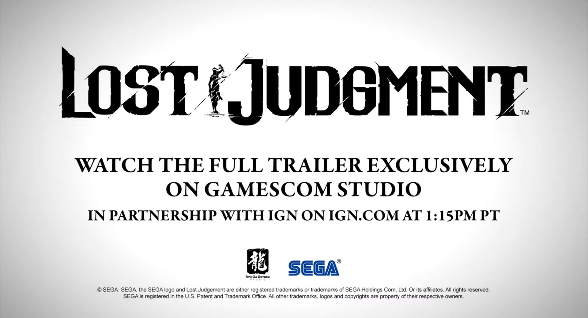 """""""Watch the full trailer exclusively on gamescom Studio in partnership with IGN on ign.com at 1:15PM PT"""""""