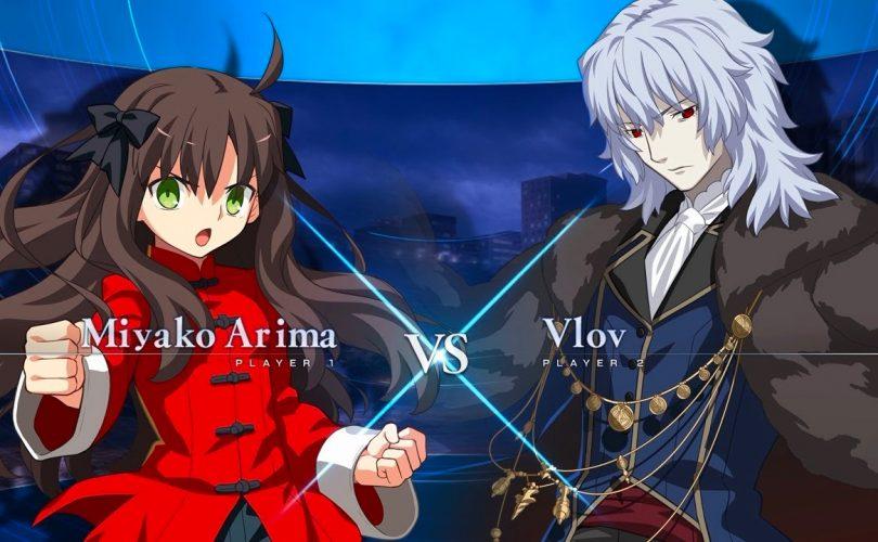 Melty Blood: Type Lumina – Primo gameplay per Miyako Arima vs Vlov Arkhangel
