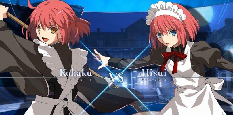 Melty Blood: Type Lumina – Secondo scontro per Hisui e Kohaku
