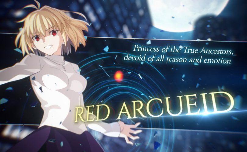 Melty Blood: Type Lumina – Character Trailer per Red Arcueid