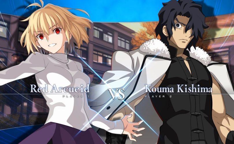 Melty Blood: Type Lumina – Al via la sfida tra Red Arcueid e Kouma Kishima