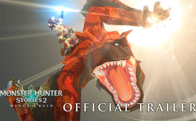 MONSTER HUNTER STORIES 2: Wings of Ruin, trailer e dettagli della versione 1.4.0