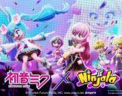 Ninjala: in arrivo la collaborazione con Hatsune Miku e i Vocaloid