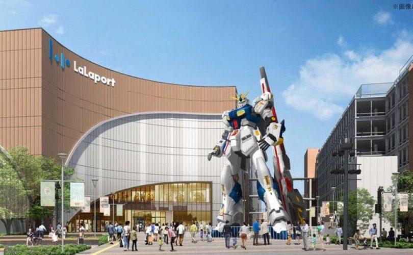 GUNDAM: in Giappone una nuova statua a grandezza naturale basata sul Nu Gundam
