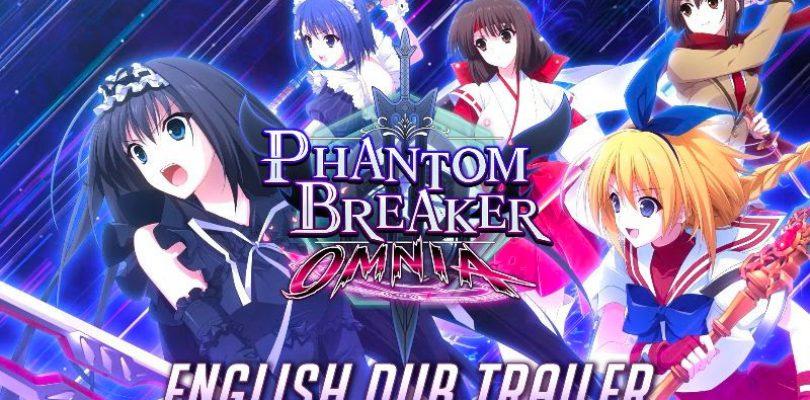 PHANTOM BREAKER: OMNIA, trailer per il doppiaggio inglese