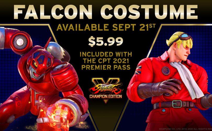 STREET FIGHTER V: ecco il costume di Ken ispirato a Falcon di Power Stone