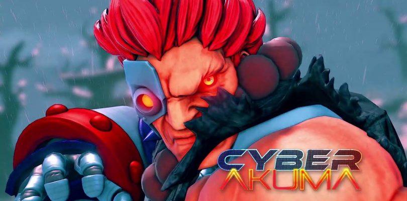 STREET FIGHTER V: il costume Cyber-Akuma arriverà il 21 settembre