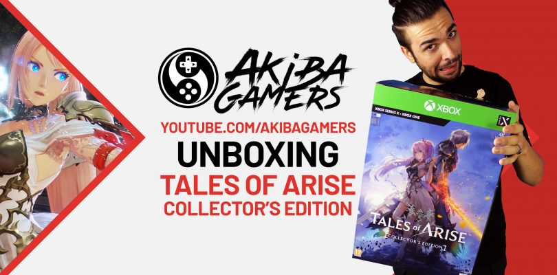 VIDEO Unboxing – TALES of ARISE Collector's Edition